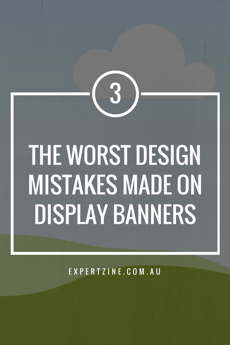 3 worst mistake in baner design