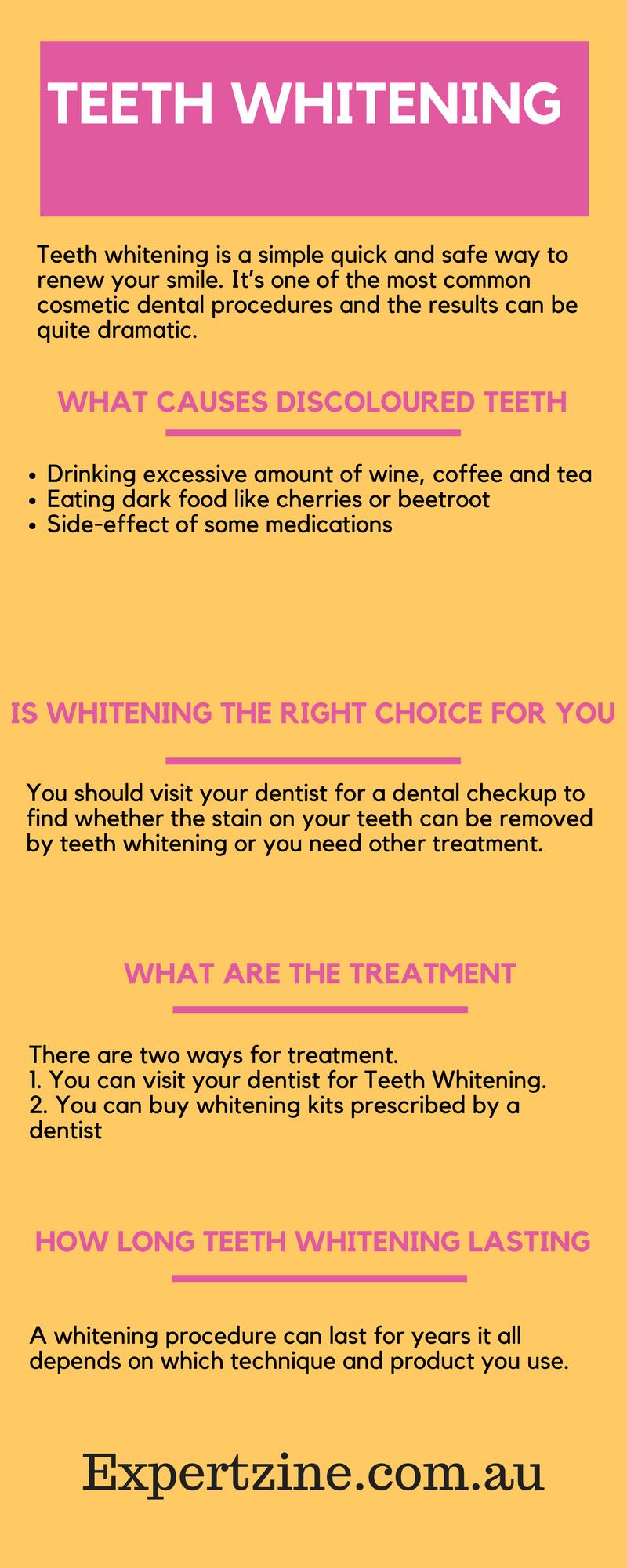 Facteur de blanchiment des dents