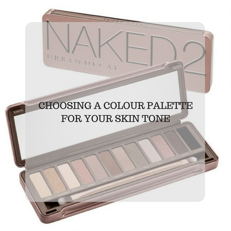 choosing A colour Palette for your skin tone