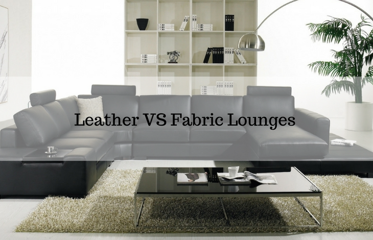 Leather VS Fabric Lounge