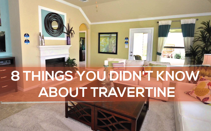 8 Secret Things You Didn't Know About Travertine