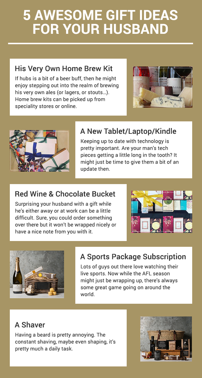 5 Awesome Gift Ideas for Your Husband | Expert Zine