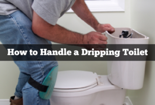 Handling a Dripping Toilet