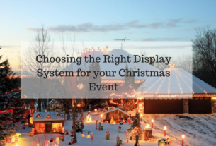 Choosing the Right Display System for your Christmas Event