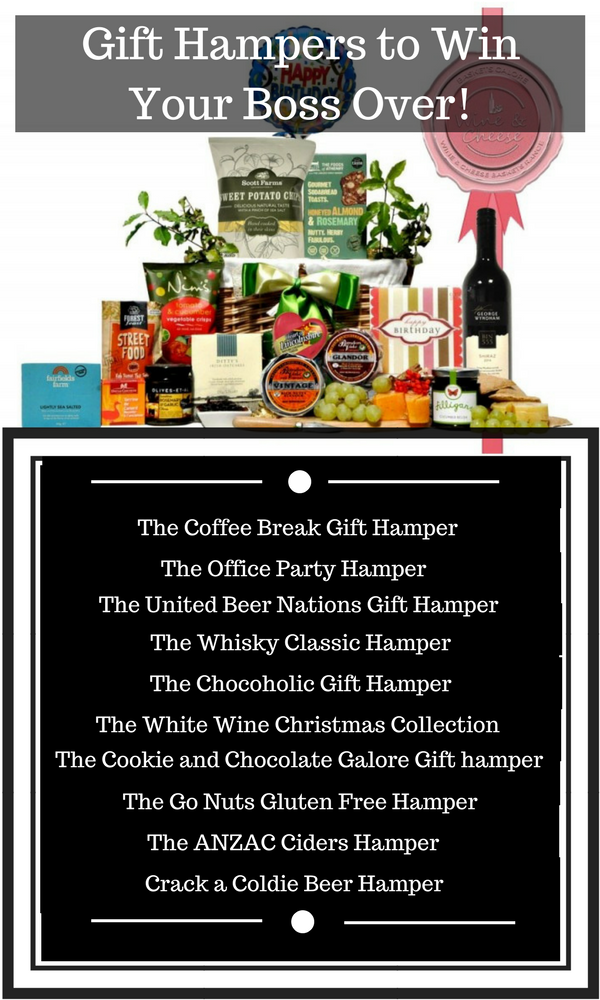 Gift Hampers Ideas to Win Your Boss Over!